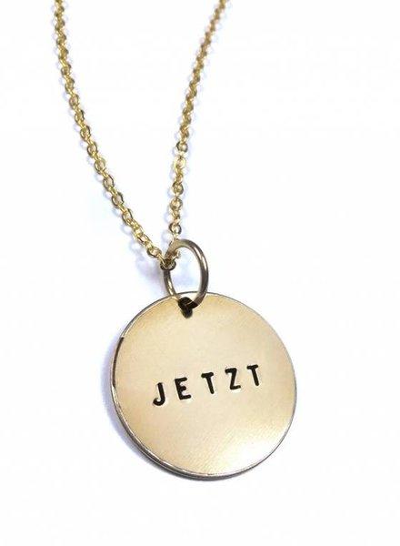 """fremdformat Halskette """"JETZT"""""""