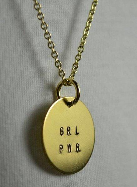 """fremdformat Halskette """"GRL PWR"""""""