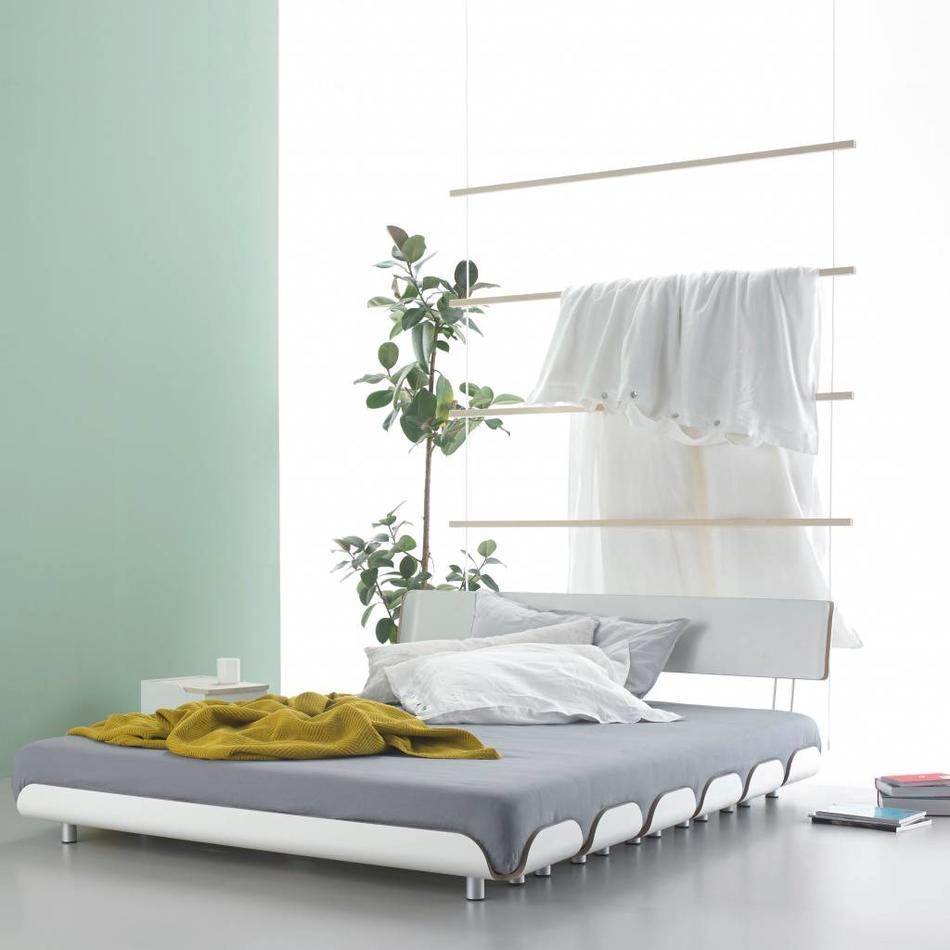 stadtnomaden bett tiefschlaf r ckenlehne 160 cm. Black Bedroom Furniture Sets. Home Design Ideas