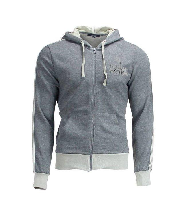 Trussardi Hooded Sweater met rits
