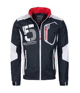 Geographical Norway Zomerjack navy/wit