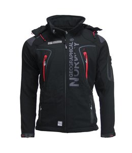 Geographical Norway Softshell Jacket TB Zwart