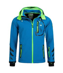 Geographical Norway Softshell Jacket Terouma Blue/Green