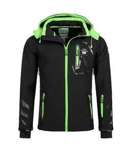 Geographical Norway Softshell Jacket Terouma Black/Green