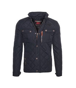 Geographical Norway Parka Bowling Navy
