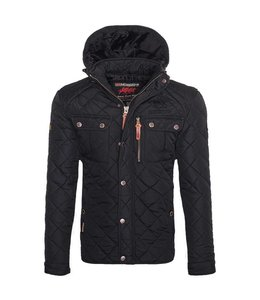 Geographical Norway Parka Hooded Black