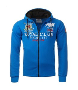 Geographical Norway Hooded Sweater Rits