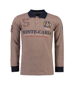 Geographical Norway Longsleeve Polo taupe