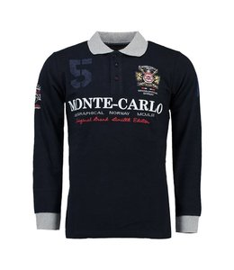 Geographical Norway Longsleeve Polo navy