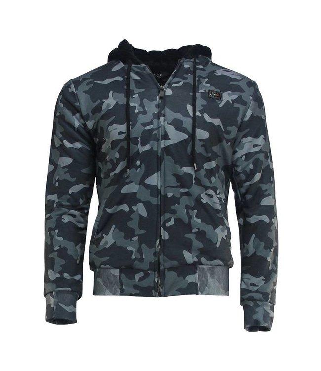 YWF Hooded Sweater met rits