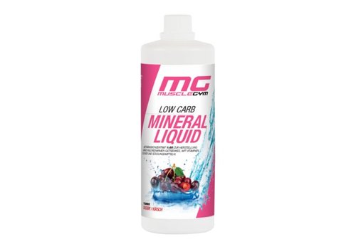 Muscle Gym MISS MUSCLEGYM LOW CARB SIRUP, 1000ml