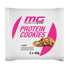 Muscle Gym MISS MUSCLEGYM PROTEIN COOKIES, 2 x 40g