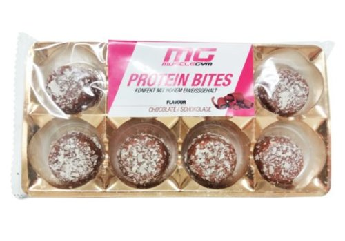 Muscle Gym MISS MUSCLEGYM PROTEIN BITES, 8 x 10g