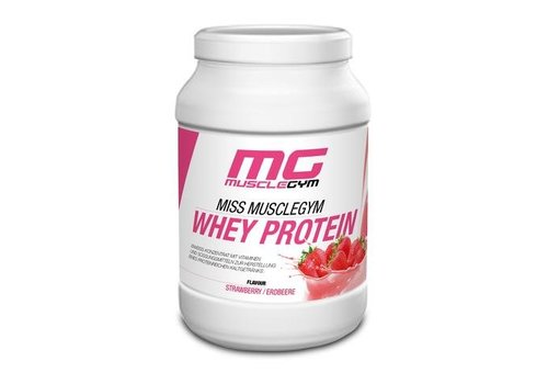 Muscle Gym MISS MUSCLEGYM WHEY PROTEIN, 750g