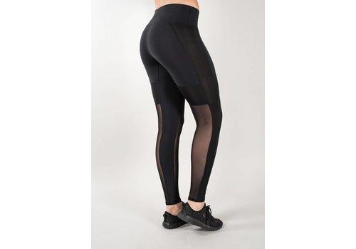 JUNGUNDEDEL Leggings VENICE - black