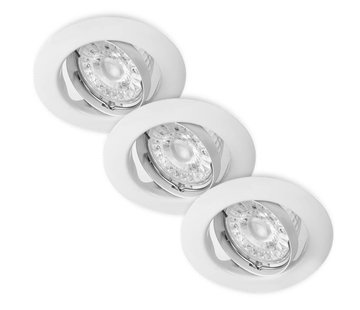 Energetic LED Inbouwspots Murillo 3 Pack 3,3W - Wit
