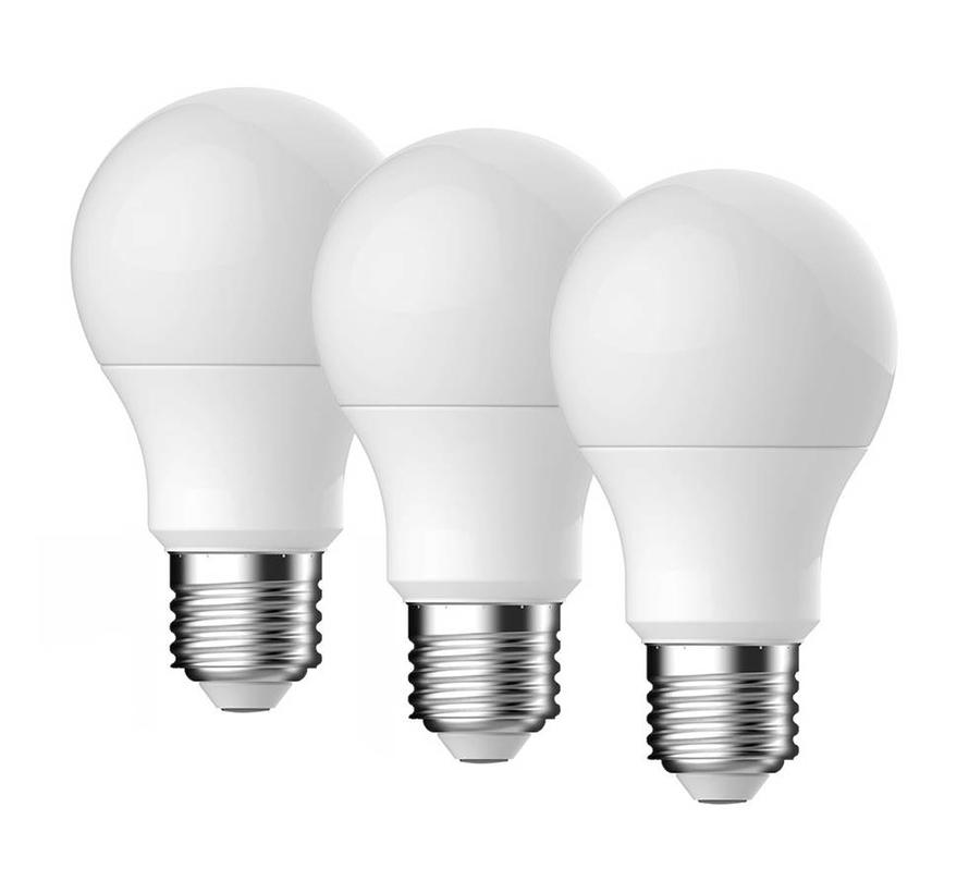 E27 LED Lamp Energetic Bulb 3 Pack - 5.3W - vervangt 40W