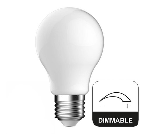 Energetic E27 LED Lamp Dimbaar Full Glass Energetic - 8W - vervangt 60W