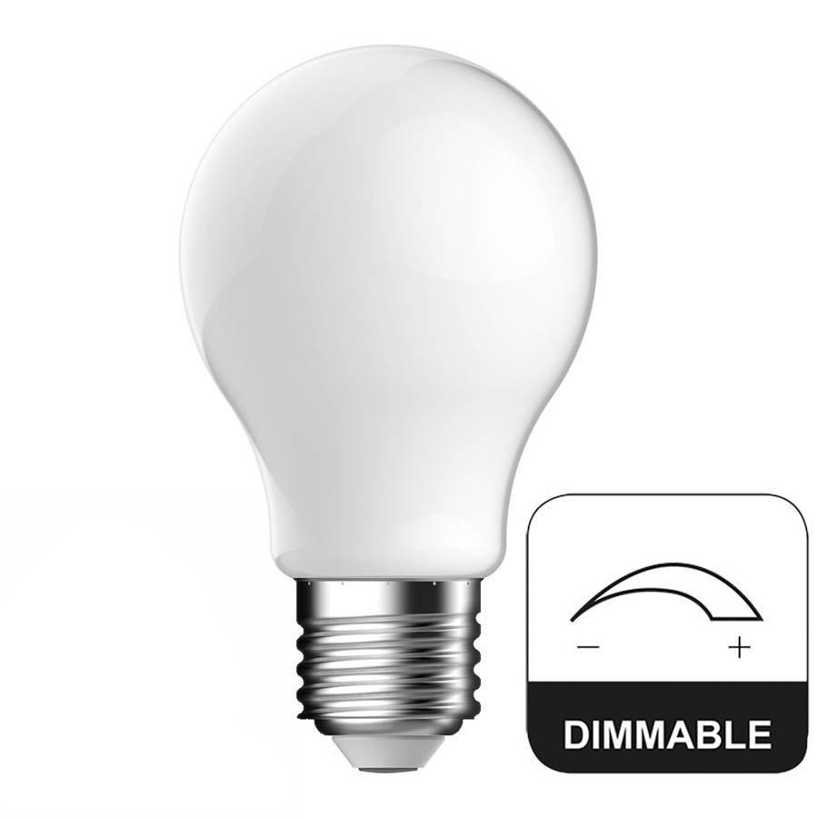 E27 LED Lamp Dimbaar Full Glass Energetic - 8W - vervangt 60W
