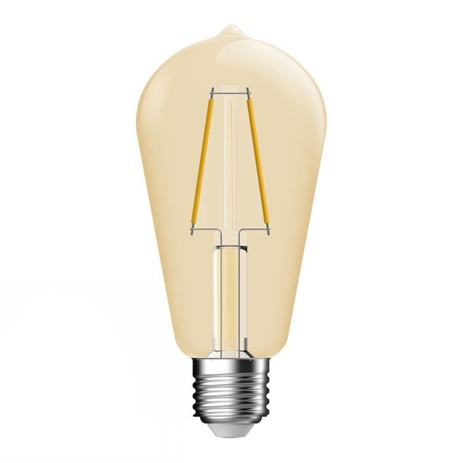 E27 LED Lamp Gold Clear Bulb Energetic - 4.4W - vervangt 35W