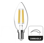 Energetic E14 LED Lamp Dimbaar Kaars Energetic - 4.8W - vervangt 40W