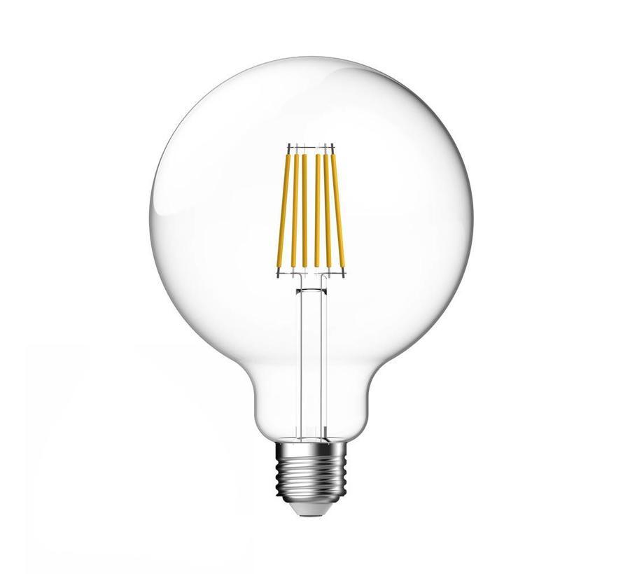 E27 LED Lamp Clear Globe Energetic - 7.5W - vervangt 60W