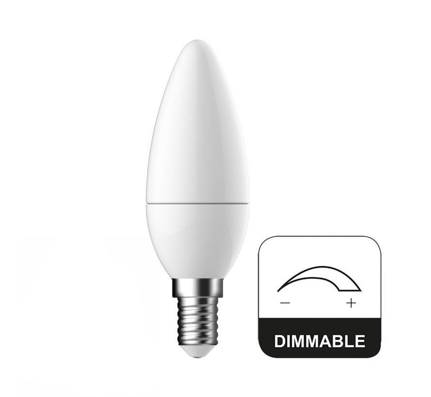 E14 LED Lamp Kaars Dimbaar Energetic - 6W - vervangt 40W