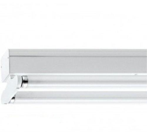 Lightexpert.nl Dubbele LED TL Armatuur Opbouw IP22 - 120/150CM