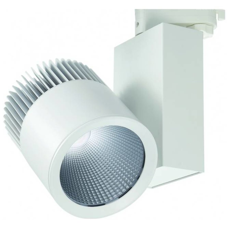 LED Railspots - 40W - 3400 Lumen - 3 Fasese