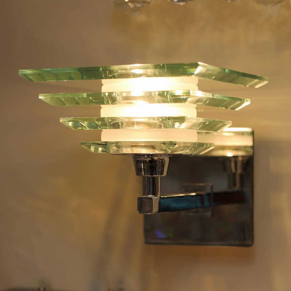 Art Deco Glass Wall Light Lightbox