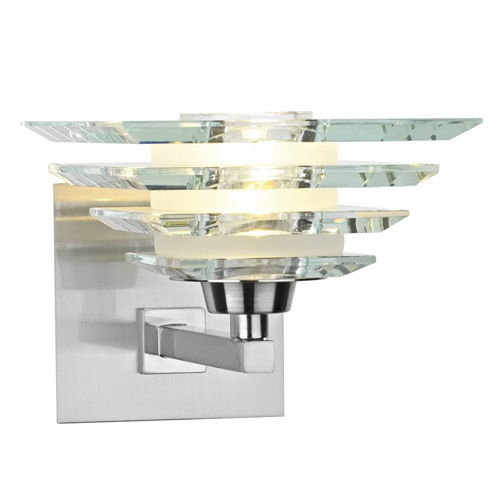 Art Deco Glass Wall Light Lightbox
