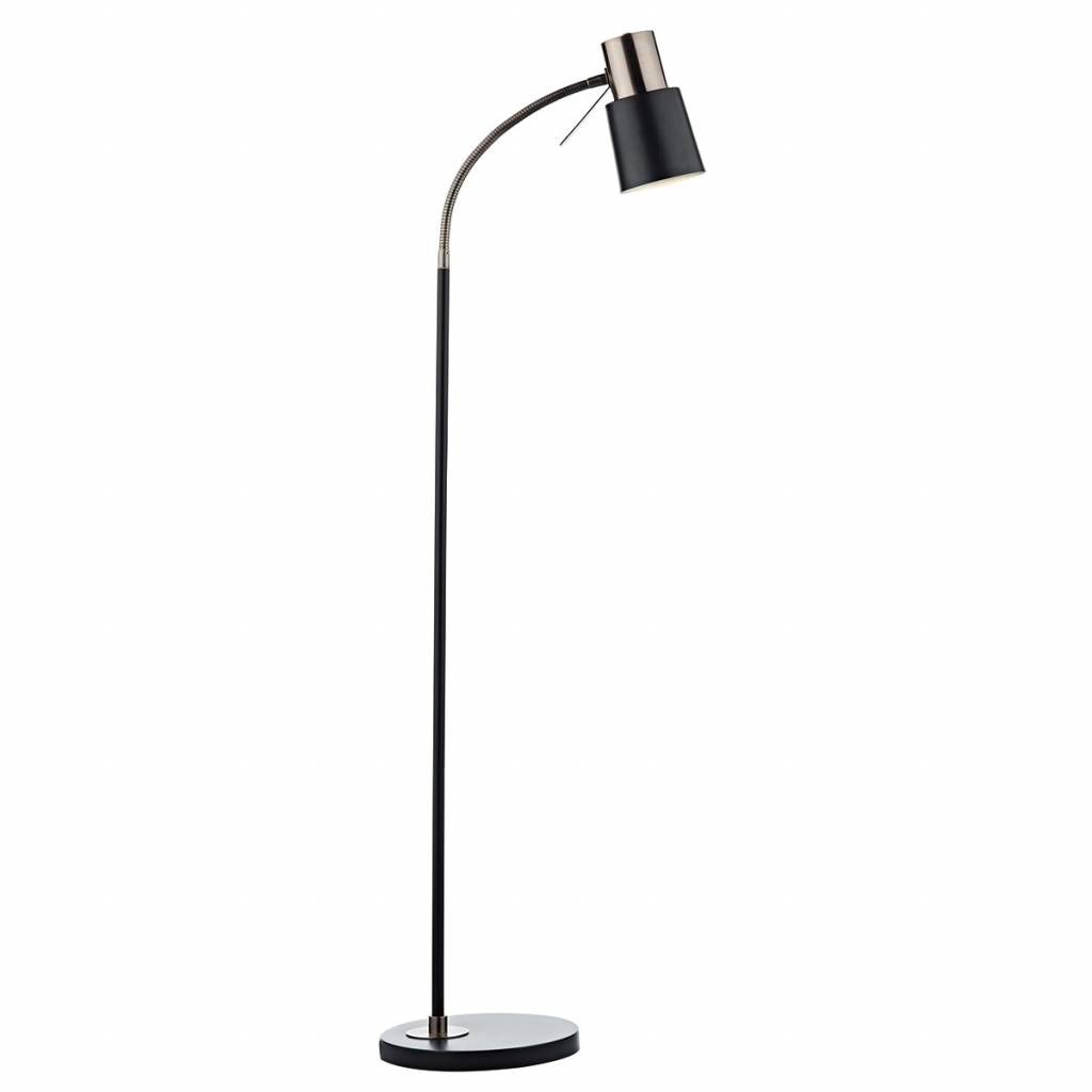 Copper Black Floor Lamp Lightbox