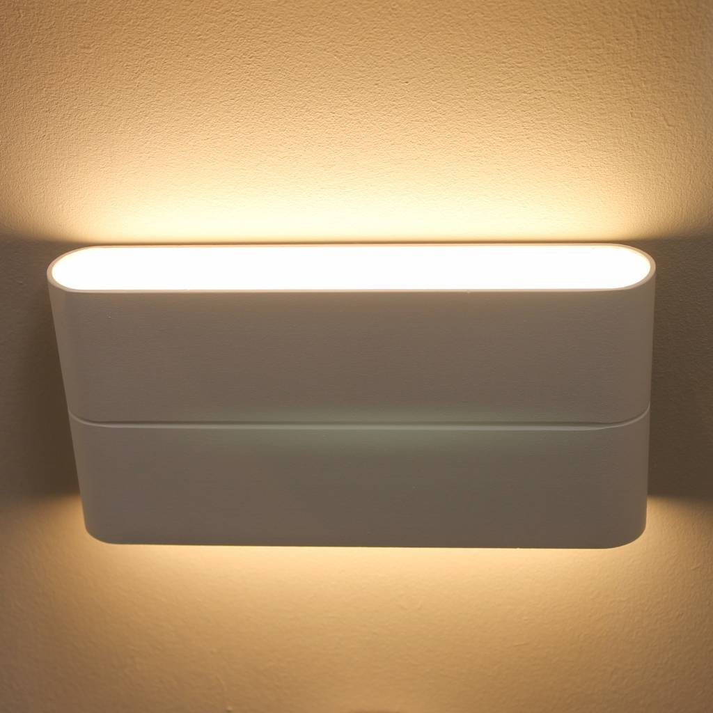 Outdoor Led Up And Down Lighter White Lightbox