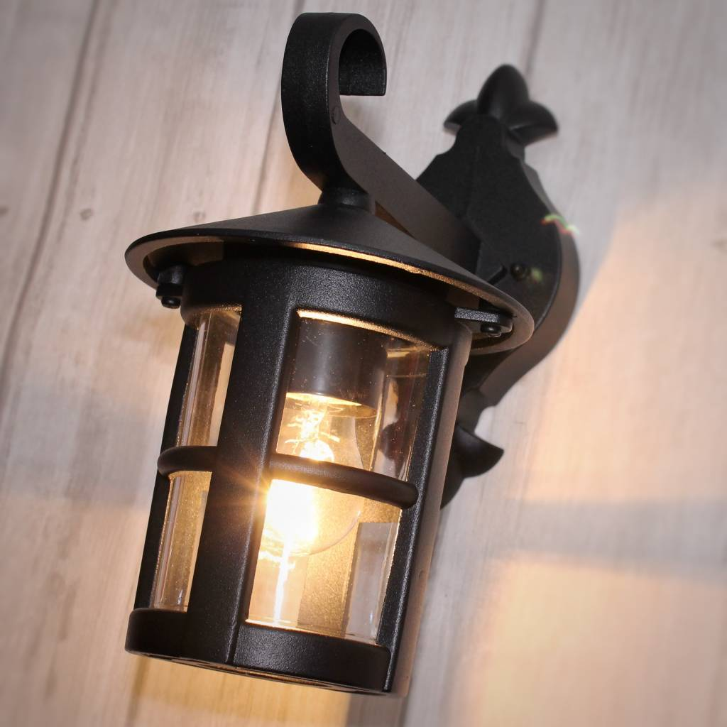 Classic Outdoor Wall Light Black Lightbox
