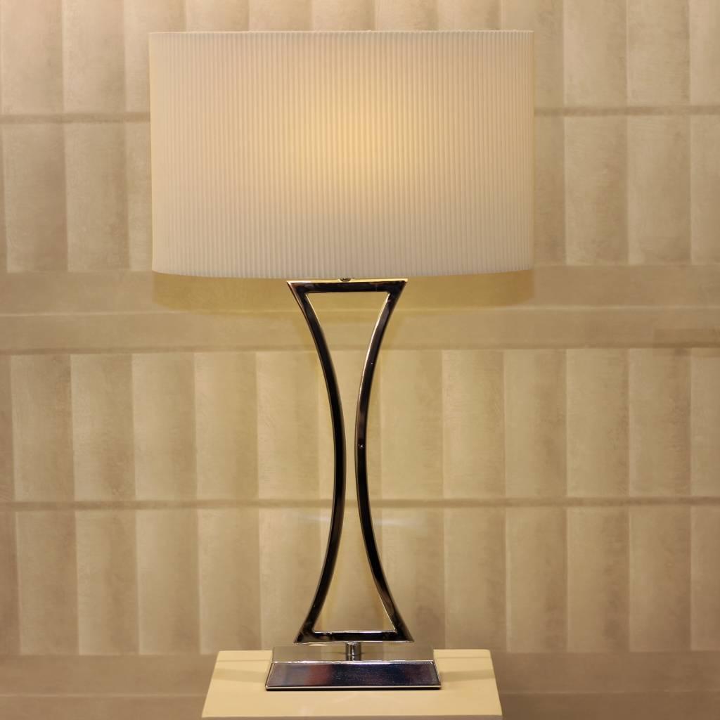 Art Deco Chrome Table Lamp Lightbox