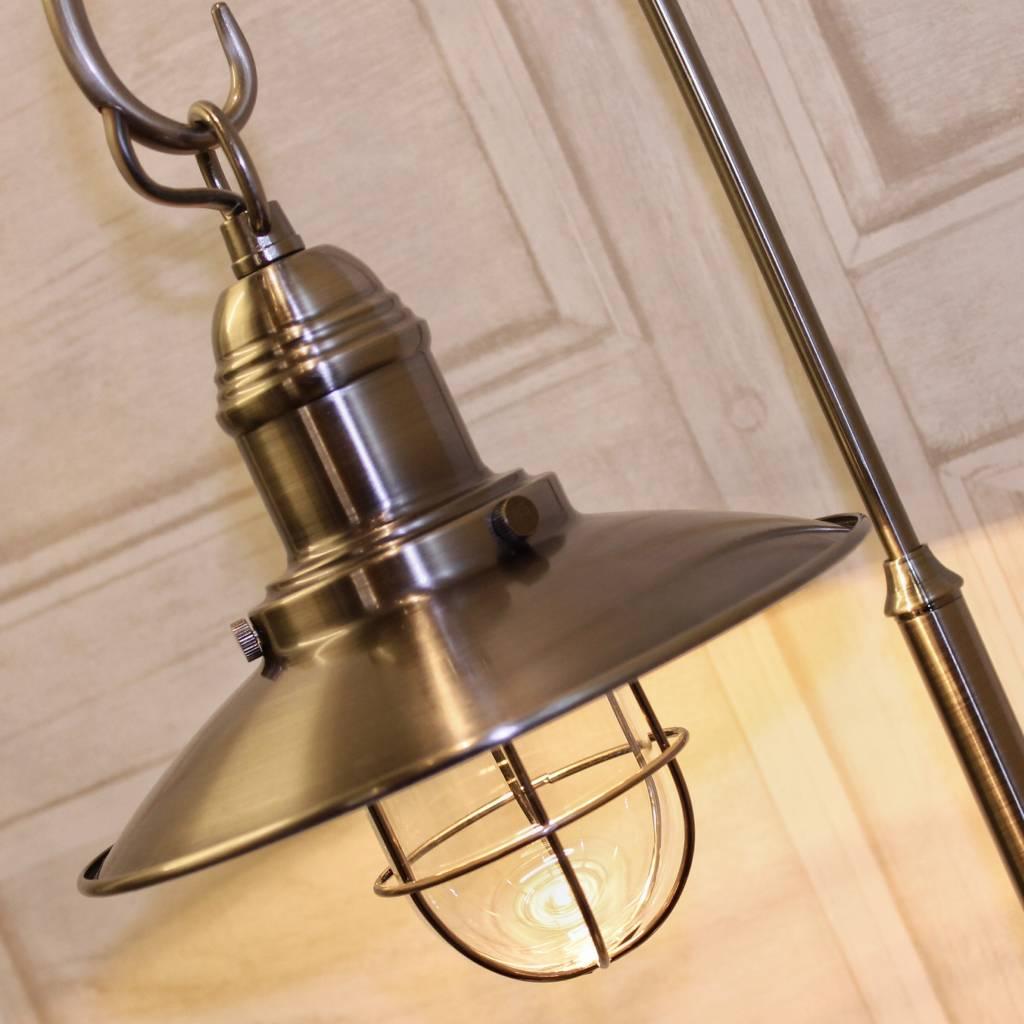 Fisherman S Table Lamp Antique Chrome Lightbox