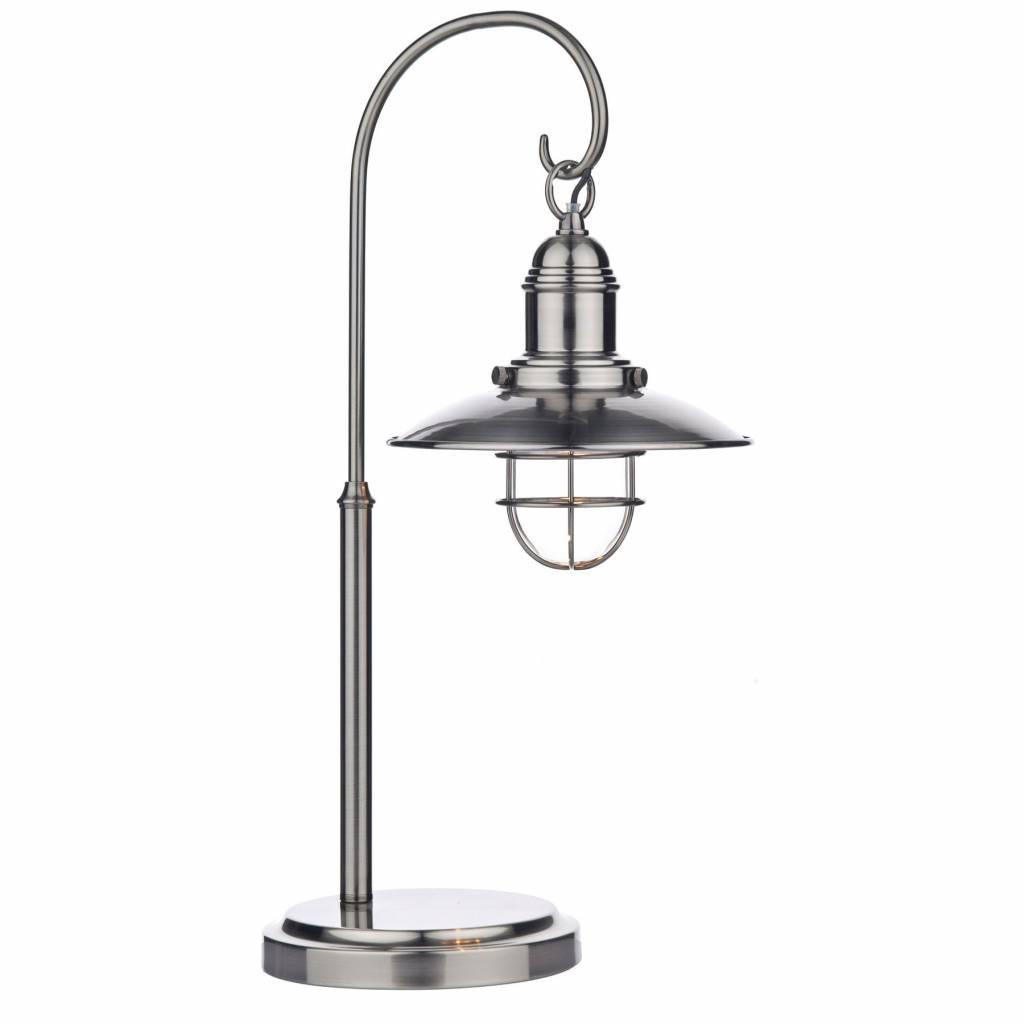 Fishermans Table Lamp - Antique Chrome - Fisherman's Table Lamp - Antique Chrome - Lightbox