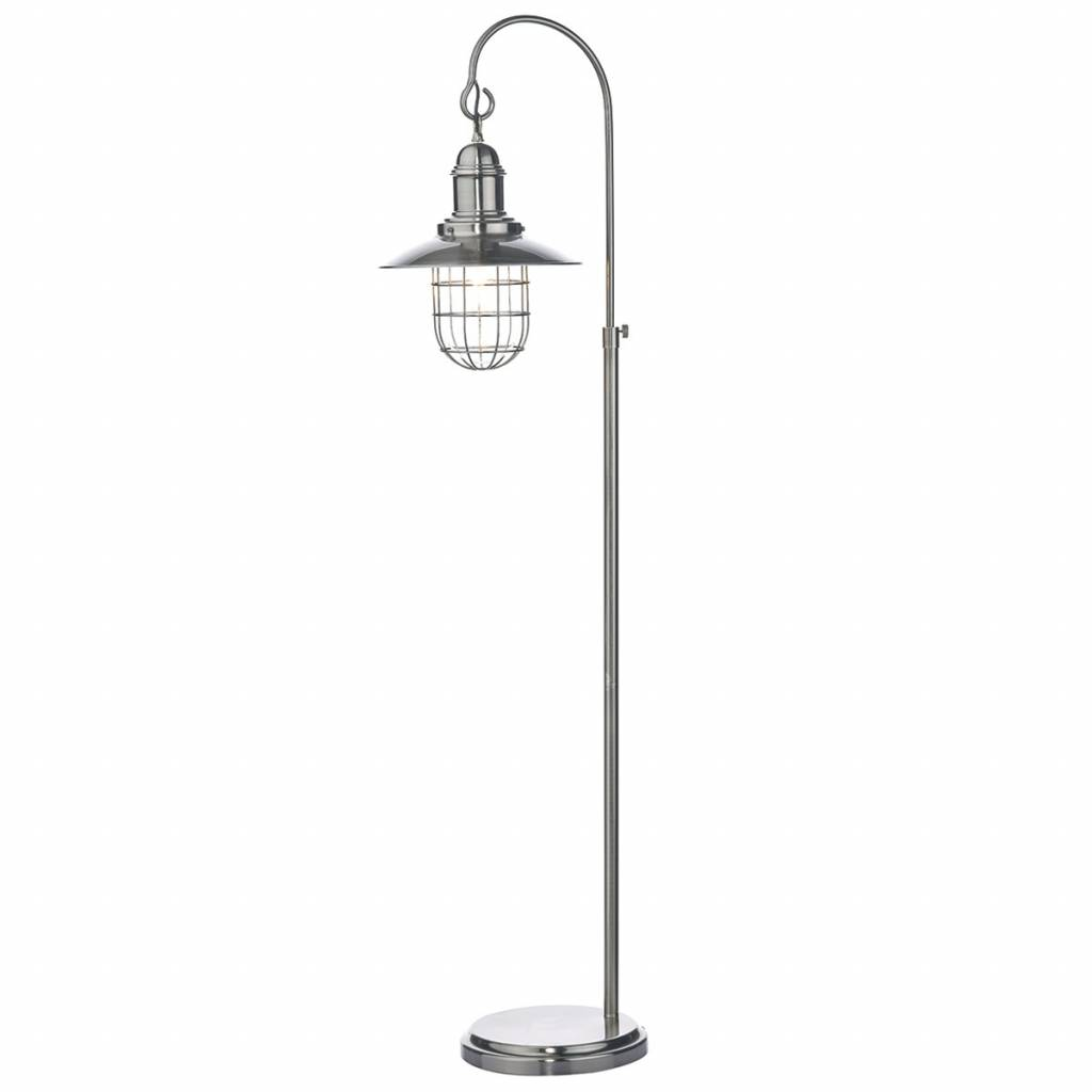 Fishermans floor lamp antique chrome lightbox fishermans floor lamp antique chrome aloadofball Image collections
