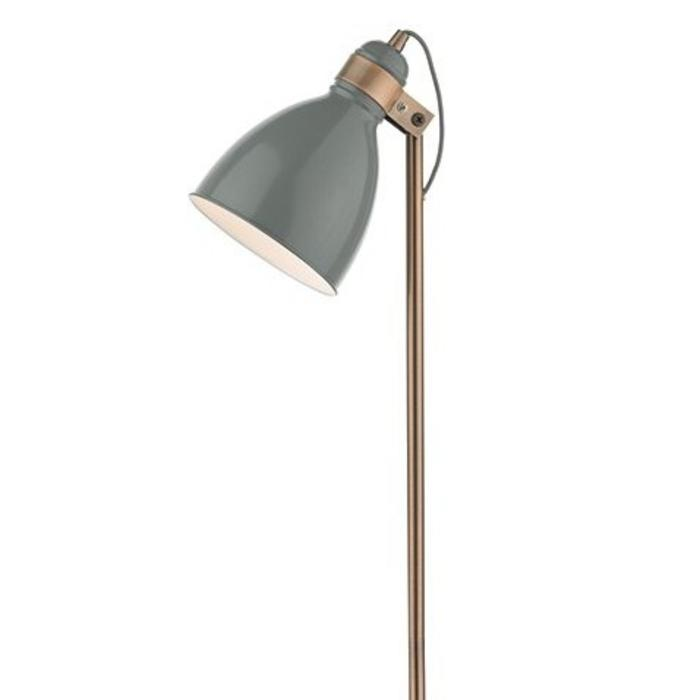 Nordic grey copper floor lamp lightbox nordic grey copper floor lamp nordic grey copper floor aloadofball Images