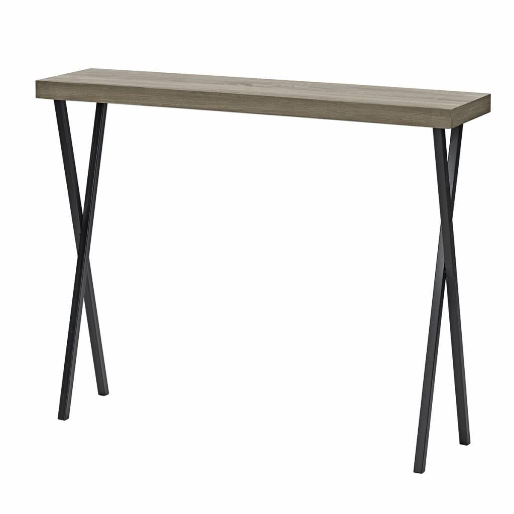 Vienna console table oak style veneer lightbox vienna console table oak style veneer geotapseo Choice Image