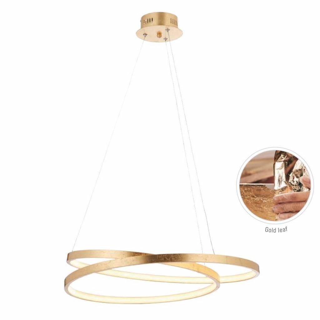 Cypher Gold Leaf Led Ring
