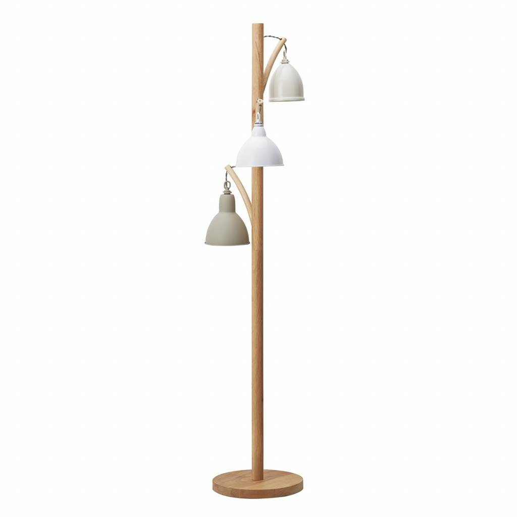 retro vintage floor lamp lightwood and cream lightbox. Black Bedroom Furniture Sets. Home Design Ideas