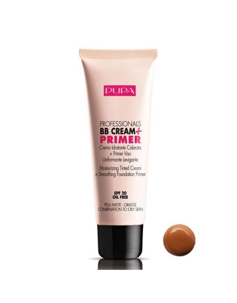 PUPA BB Cream + Primer SPF 20 Gecombineerd-vette huid
