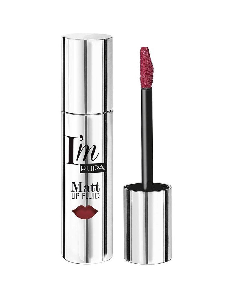 PUPA I`M Matt Lip Fluid - 074 Dark Pink