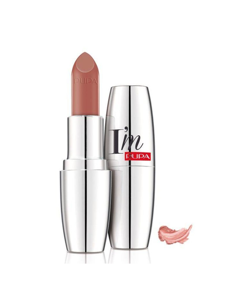 PUPA I`M Lipstick - 101 Nude Code