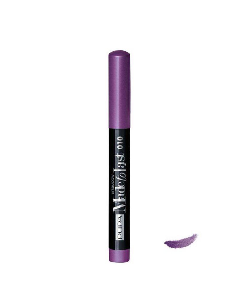 PUPA Made to Last Eyeshadow Waterproof - 010 Shocking Violet