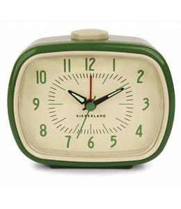 Kikkerland Retro alarm wekker groen