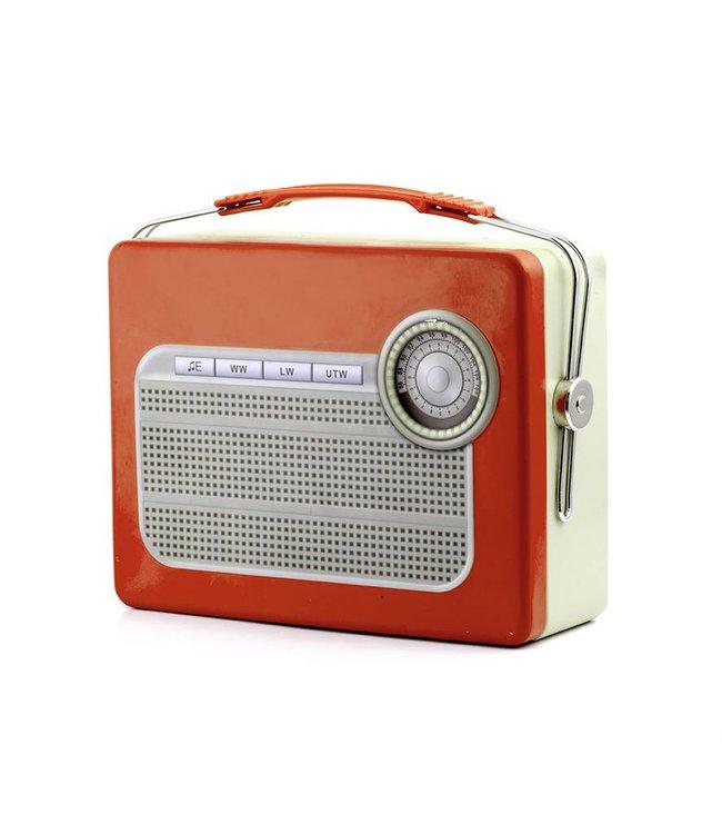 Kikkerland Retro lunchbox Radio