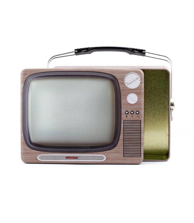 Kikkerland Retro lunchbox Televisie