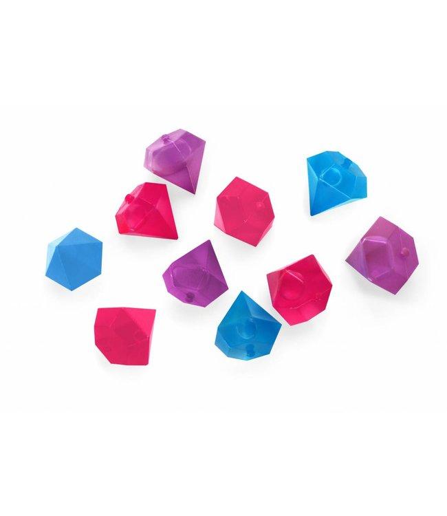 Kikkerland IJsblokjes Diamant herbruikbaar
